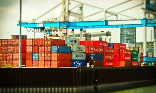 transport de marchandises air, terre, mer