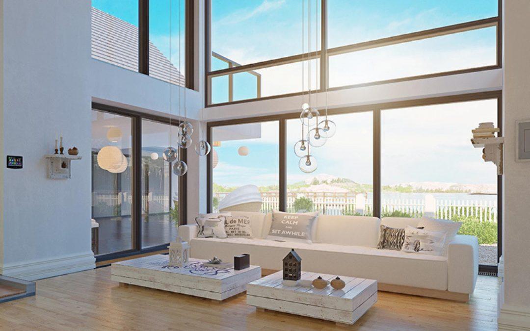 Murs extérieurs en verre et systèmes de murs extérieurs en verre