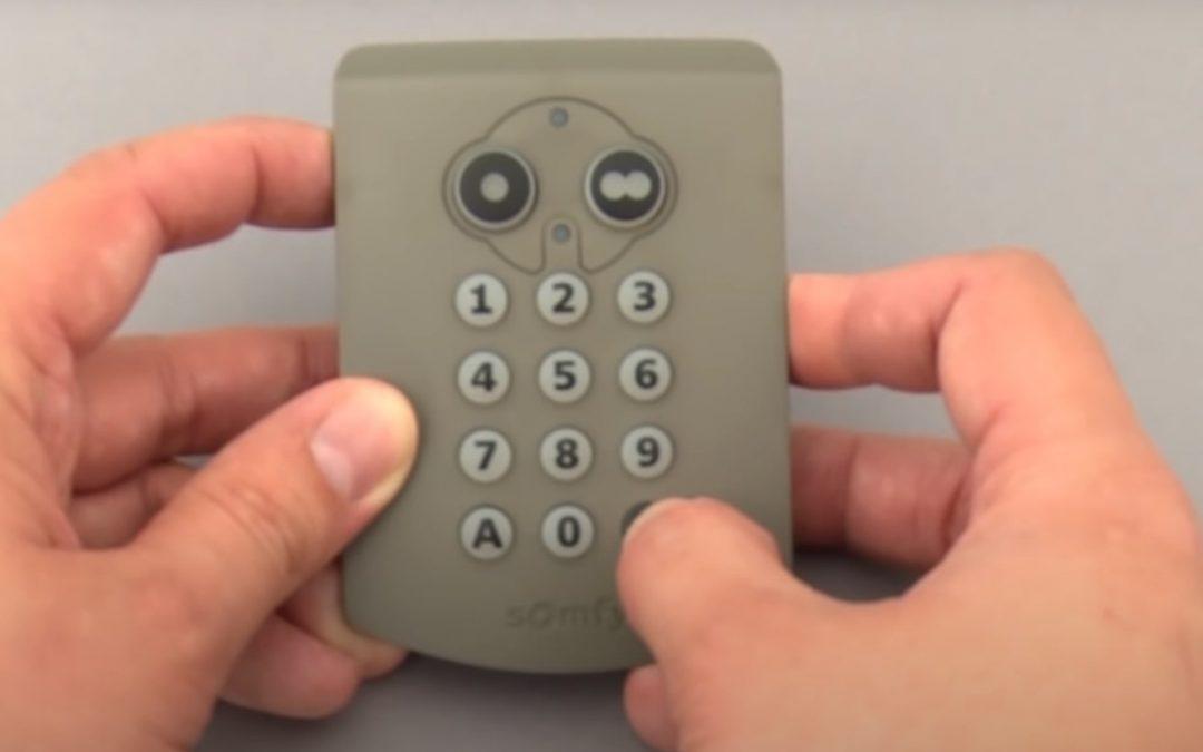 Les systèmes d'ouverture sécurisés: les digicodes