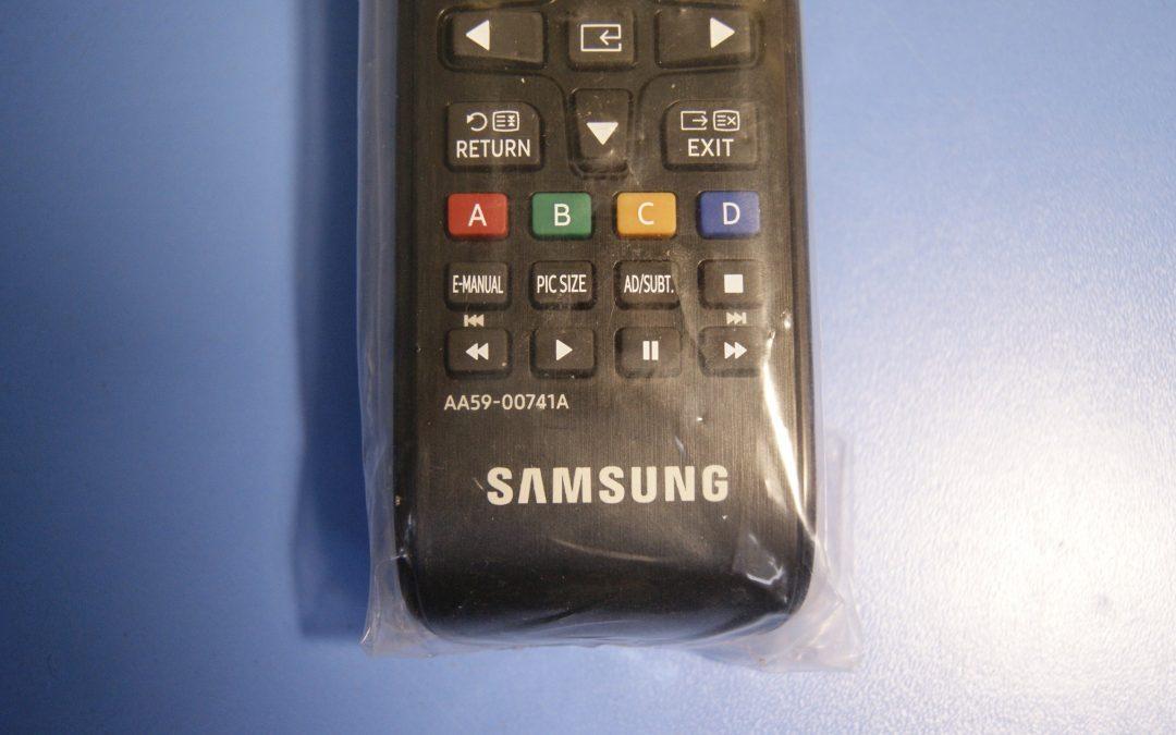 À qui s'adresse la télécommande SAMSUNG AA59-00741A?