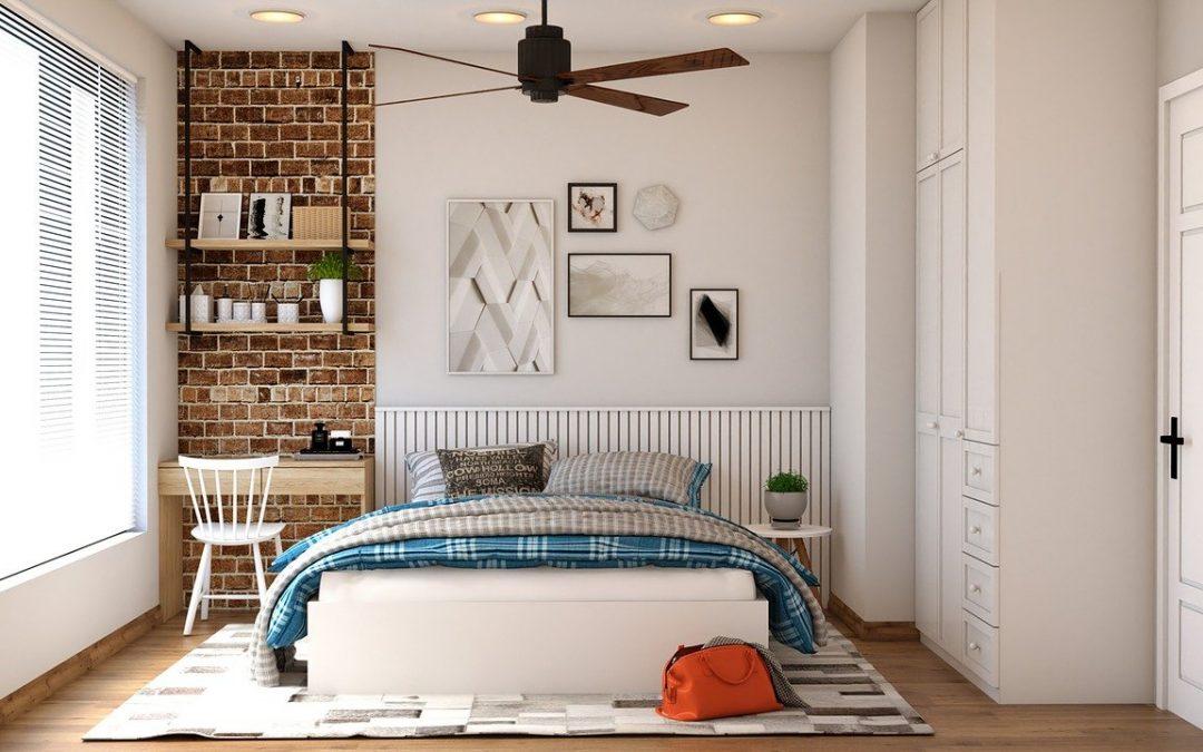 L'inspiration peinture, dans la chambre à coucher