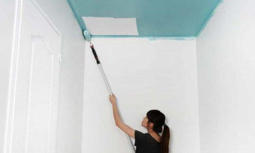 Comment peindre un plafond